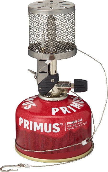 primus micron lantern steel mesh gasslykt