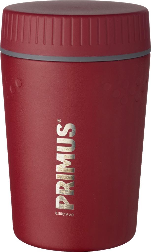 primus trailbreak mattermos 550 ml - barn red