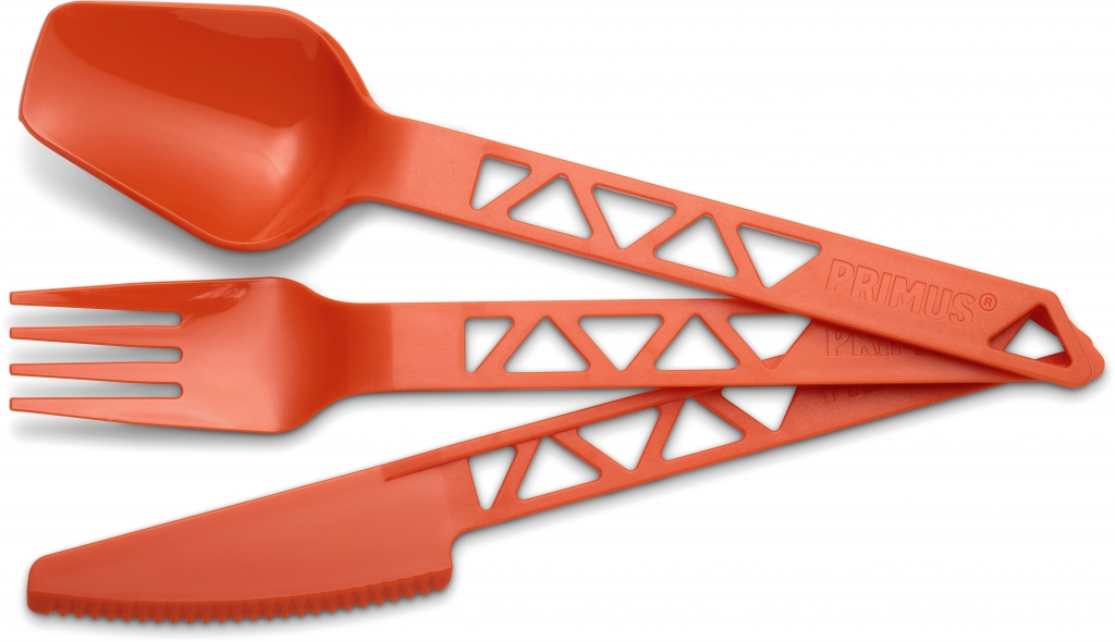 primus lightweight trailcutlery - tangerine